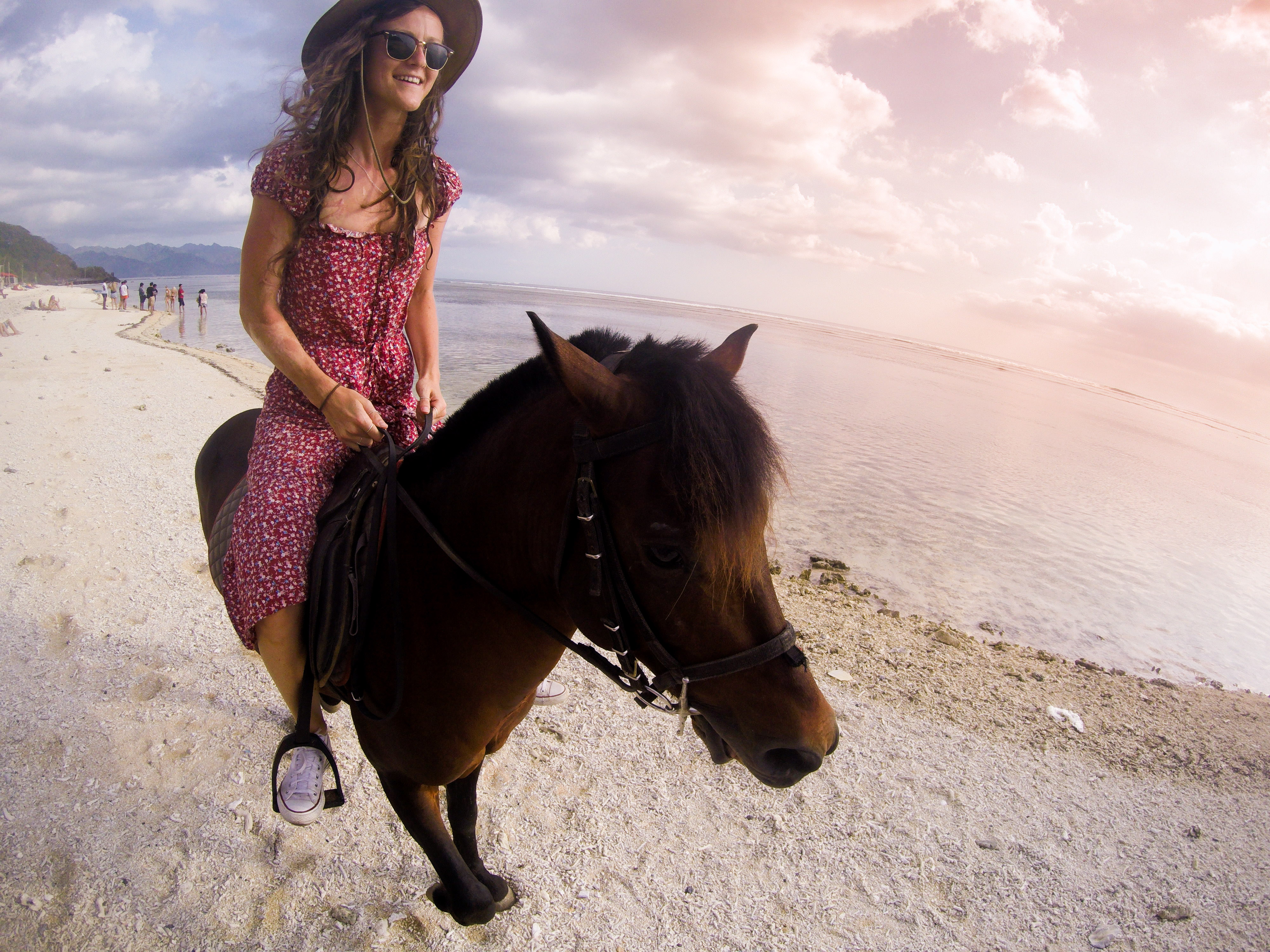 Horse riding Gili T